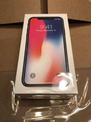 Совершенно новый разблокированный Apple iPhone X 256GB
